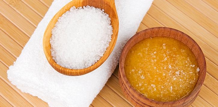 сахарный скраб в домашних условиях
