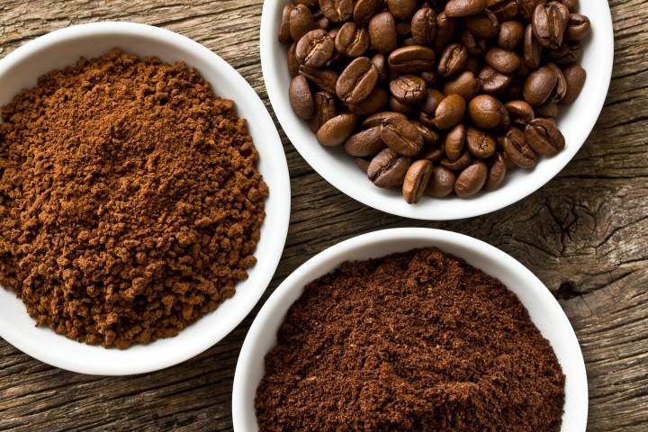 кофейный скраб с глиной