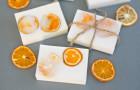 Как сделать апельсиновое мыло