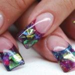 Аквариумный дизайн ногтей – отличное решение для оригинальных людей