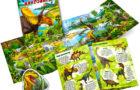 Книжка-раскраска — изучаем виды динозавров