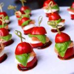 Закуски в виде канапе – «маст хэв» на каждом праздничном столе