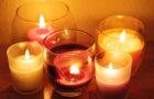 Ароматические свечи – отличный способ создать в доме романтическую атмосферу