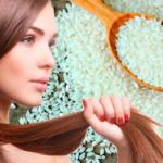 Чем полезна маска для волос из рисовой муки?