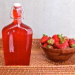 Приготовление клубничного сиропа